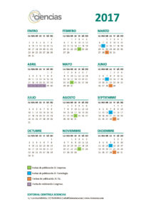 Calendario 3Ciencias