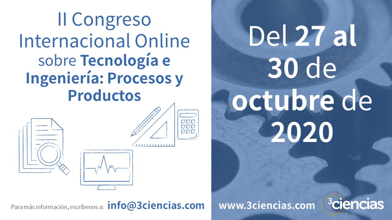 cartel_II Congreso Internacional Online sobre Tecnología e Ingeniería